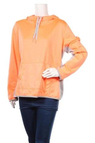 Дамски суичър Danskin, Размер XL, Цвят Оранжев, Полиестер, Цена 6,30лв.