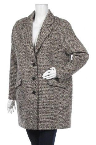 Дамско палто Cyrillus, Размер L, Цвят Многоцветен, 34% полиакрил, 33% вълна, 29% полиестер, 4% вълна от алпака, Цена 158,95лв.