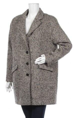 Дамско палто Cyrillus, Размер M, Цвят Многоцветен, 34% полиакрил, 33% вълна, 29% полиестер, 4% вълна от алпака, Цена 147,40лв.