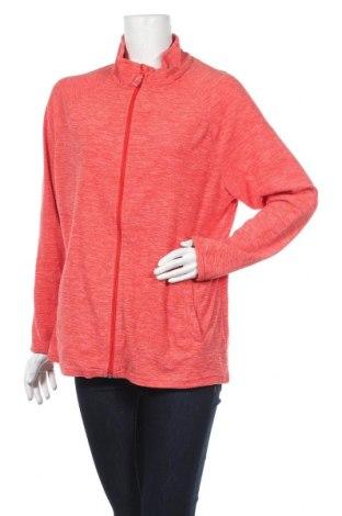 Дамско поларено горнище Janina, Размер XL, Цвят Червен, Полиестер, Цена 8,09лв.