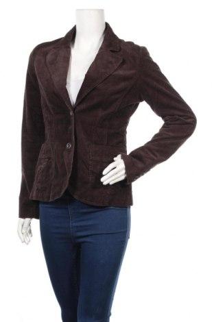 Дамско сако H&M, Размер M, Цвят Кафяв, 98% памук, 2% еластан, Цена 4,54лв.