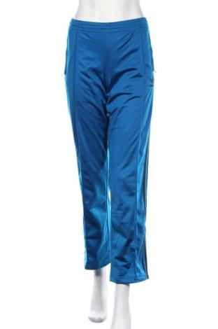 Дамско спортно долнище Adidas, Размер L, Цвят Син, Полиестер, Цена 14,96лв.