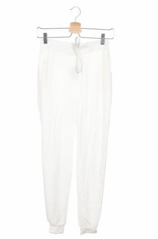 Дамско спортно долнище Boohoo, Размер XS, Цвят Бял, 95% полиестер, 5% еластан, Цена 22,68лв.