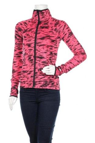 Дамско спортно горнище Adidas, Размер XS, Цвят Розов, 89% полиестер, 11% еластан, Цена 28,80лв.