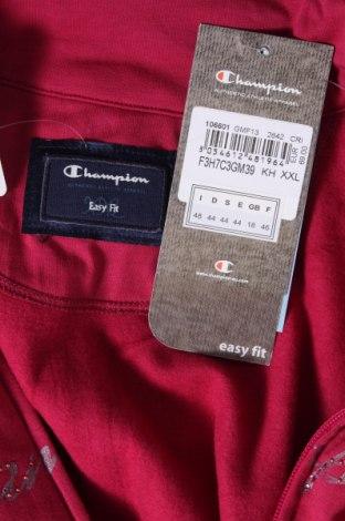 Дамско спортно горнище Champion, Размер XL, Цвят Лилав, 93% памук, 7% еластан, Цена 66,75лв.