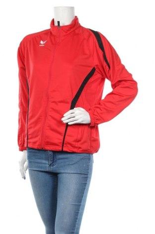 Дамско спортно горнище Erima, Размер L, Цвят Червен, Полиестер, Цена 8,82лв.