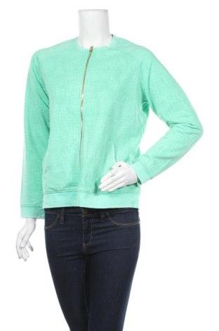 Дамско спортно горнище Karl Marc John, Размер L, Цвят Зелен, 51% памук, 49% полиестер, Цена 61,50лв.