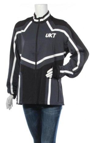 Дамско спортно горнище Unkut, Размер XL, Цвят Черен, 94% полиестер, 6% еластан, Цена 44,25лв.
