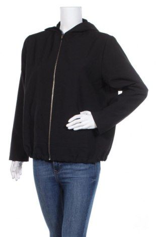 Дамско спортно яке, Размер M, Цвят Черен, Полиестер, Цена 11,29лв.
