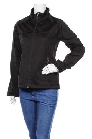 Дамско спортно яке, Размер M, Цвят Черен, Полиестер, Цена 20,80лв.