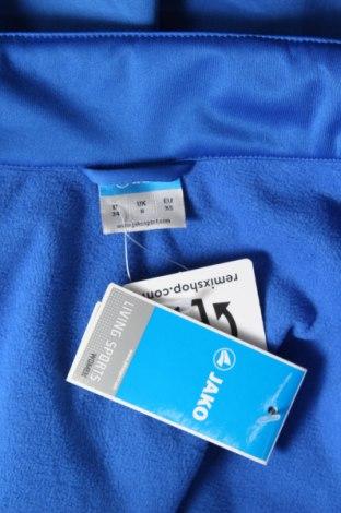 Дамско спортно яке Jako, Размер XS, Цвят Син, Полиестер, Цена 28,48лв.