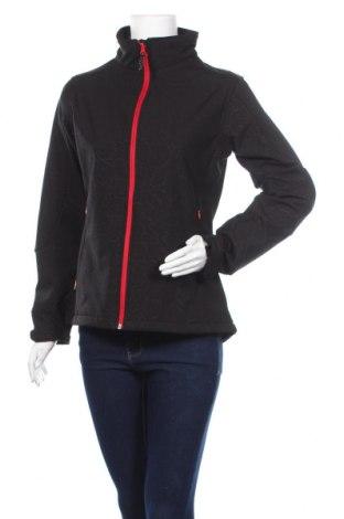 Дамско спортно яке Just Nature, Размер M, Цвят Черен, 94% полиестер, 6% еластан, Цена 11,55лв.