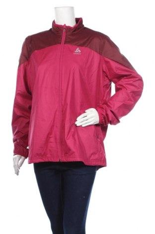 Дамско спортно яке Odlo, Размер XL, Цвят Розов, Полиестер, Цена 84,00лв.