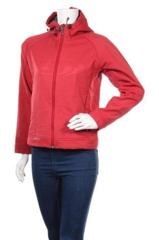 Дамско спортно яке Salomon, Размер S, Цвят Червен, Полиестер, Цена 28,56лв.