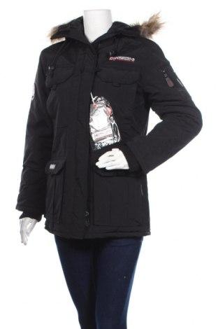 Дамско яке Geographical Norway, Размер S, Цвят Черен, Полиамид, Цена 149,50лв.