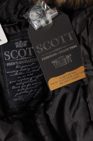 Дамско яке Schott, Размер L, Цвят Черен, Полиестер, Цена 129,24лв.
