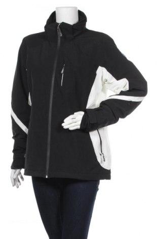 Дамско яке за зимни спортове CMP, Размер XL, Цвят Черен, 90% полиестер, 10% еластан, Цена 12,86лв.