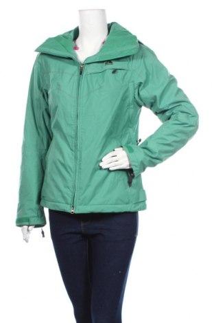Дамско яке за зимни спортове Nike, Размер S, Цвят Зелен, Полиамид, Цена 163,17лв.