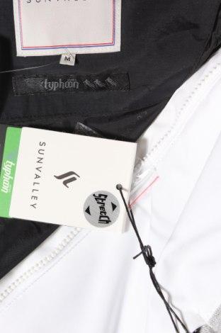 Дамско яке за зимни спортове Sun Valley, Размер M, Цвят Бял, Полиестер, Цена 110,98лв.