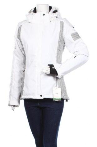 Дамско яке за зимни спортове Sun Valley, Размер L, Цвят Бял, Полиестер, Цена 134,25лв.