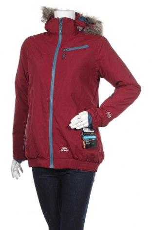 Дамско яке за зимни спортове Trespass, Размер S, Цвят Червен, Полиамид, Цена 107,40лв.