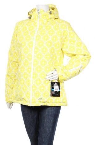 Дамско яке за зимни спортове Trespass, Размер L, Цвят Жълт, Полиестер, Цена 103,82лв.