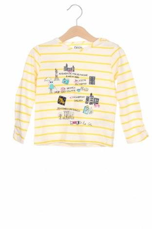 Детска блуза La Compagnie des Petits, Размер 2-3y/ 98-104 см, Цвят Екрю, 100% памук, Цена 10,64лв.