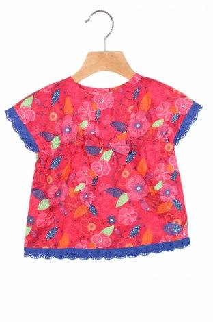 Детска блуза La Compagnie des Petits, Размер 9-12m/ 74-80 см, Цвят Многоцветен, Памук, Цена 5,44лв.
