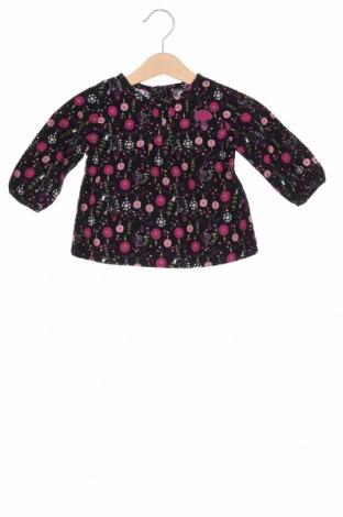 Детска блуза La Compagnie des Petits, Размер 3-6m/ 62-68 см, Цвят Черен, 100% памук, Цена 10,64лв.