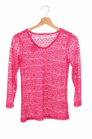 Детска блуза Y.F.K., Размер 8-9y/ 134-140 см, Цвят Розов, 95% полиамид, 5% еластан, Цена 4,46лв.