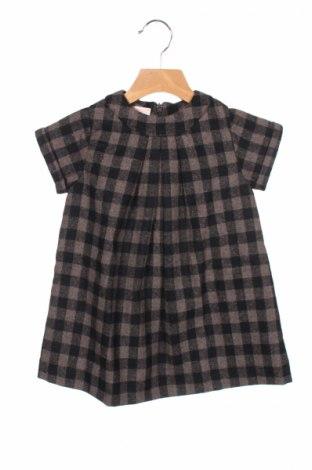 Детска рокля Gocco, Размер 2-3y/ 98-104 см, Цвят Черен, 70% полиестер, 30% вълна, Цена 40,70лв.