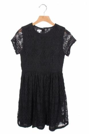 Детска рокля Gocco, Размер 11-12y/ 152-158 см, Цвят Черен, 75% памук, 25% полиамид, Цена 10,35лв.