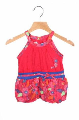 Детска рокля La Compagnie des Petits, Размер 3-6m/ 62-68 см, Цвят Многоцветен, Памук, Цена 7,36лв.
