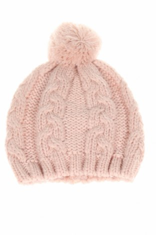 Детска шапка Cyrillus, Цвят Розов, 70% акрил, 30% вълна, Цена 22,68лв.