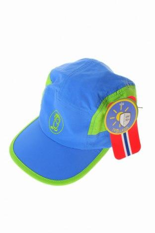 Детска шапка Trollkids, Цвят Син, Полиамид, Цена 10,92лв.