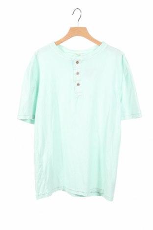 Детска тениска Zara Kids, Размер 12-13y/ 158-164 см, Цвят Зелен, Памук, Цена 6,27лв.