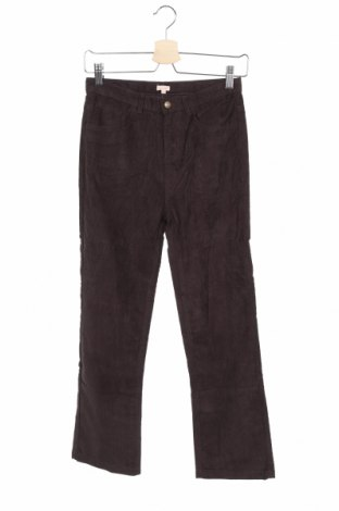 Детски джинси Gocco, Размер 9-10y/ 140-146 см, Цвят Кафяв, 70% памук, 28% полиестер, 2% еластан, Цена 7,35лв.
