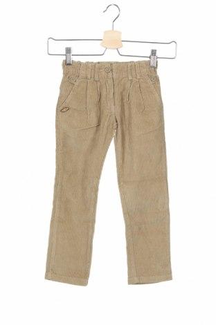 Детски джинси La Compagnie des Petits, Размер 4-5y/ 110-116 см, Цвят Бежов, Памук, Цена 12,88лв.