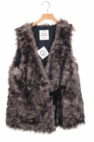 Детски елек Zara Kids, Размер 12-13y/ 158-164 см, Цвят Сив, Полиестер, Цена 11,97лв.