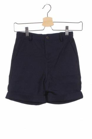 Детски къс панталон Gocco, Размер 7-8y/ 128-134 см, Цвят Син, 65% полиестер, 35% вискоза, Цена 3,04лв.