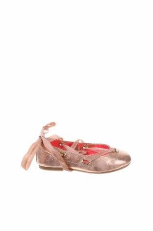 Детски обувки Billieblush, Размер 26, Цвят Златист, Естествена кожа, Цена 28,98лв.