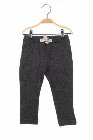 Детски панталон Absorba, Размер 9-12m/ 74-80 см, Цвят Сив, 63% полиестер, 35% полиестер, 2% еластан, Цена 8,28лв.