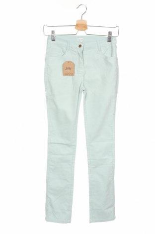 Детски панталон Gocco, Размер 11-12y/ 152-158 см, Цвят Син, 99% памук, 1% еластан, Цена 7,35лв.