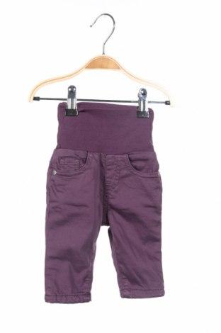 Детски панталон Steiff, Размер 1-2m/ 50-56 см, Цвят Лилав, Цена 18,88лв.