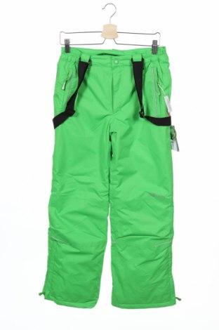 Детски панталон за зимни спортове Trollkids, Размер 12-13y/ 158-164 см, Цвят Зелен, Полиестер, Цена 41,58лв.