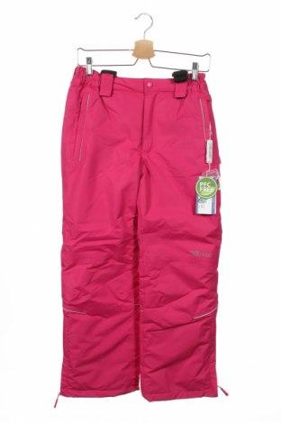 Детски панталон за зимни спортове Trollkids, Размер 10-11y/ 146-152 см, Цвят Розов, Полиестер, Цена 31,68лв.