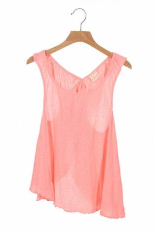 Детски потник Zara Kids, Размер 11-12y/ 152-158 см, Цвят Розов, 60% памук, 40% полиестер, Цена 3,80лв.