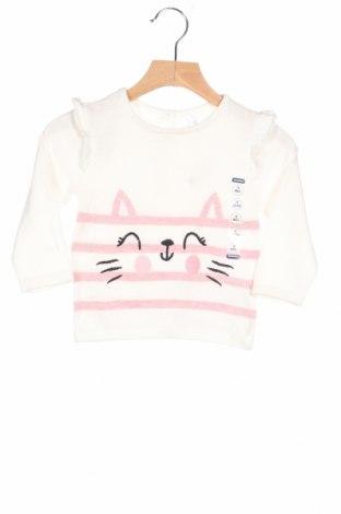 Детски пуловер Orchestra, Размер 12-18m/ 80-86 см, Цвят Бял, 97% памук, 3% полиестер, Цена 26,95лв.