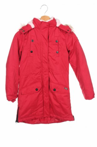 Детско яке Cars Jeans, Размер 11-12y/ 152-158 см, Цвят Червен, 73% полиестер, 17% памук, 10% полиамид, Цена 50,60лв.