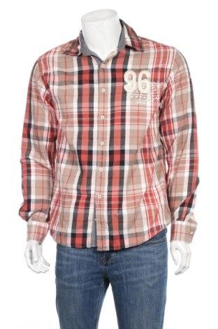 Ανδρικό πουκάμισο Kitaro, Μέγεθος M, Χρώμα Πολύχρωμο, Βαμβάκι, Τιμή 3,14€